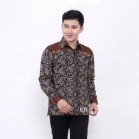 Kemeja Batik Pria Lengan Panjang CK Baju Batik Pria Batik Cowok