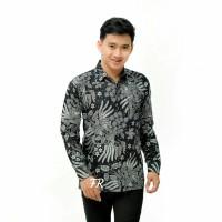 Kemeja Batik Pria Lengan Panjang MG2 Baju Batik Pria Batik Cowok Murah