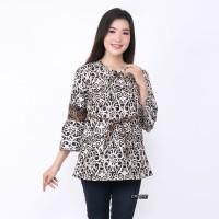 Atasan Batik Wanita AS Baju Batik Wanita Blouse Batik Wanita Terbaru