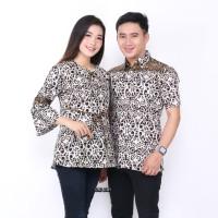 Batik Couple Kemeja dan Atasan Wanita AS Batik Sarimbit Termurah