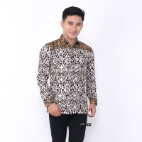 Kemeja Batik Pria Lengan Panjang AS Baju Batik Pria Batik Cowok