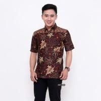 Kemeja Batik Pria Lengan Pendek MH Baju Batik Pria Batik Cowok Terbaru