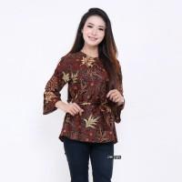 Atasan Batik Wanita Baju Batik Wanita Blouse Batik Wanita Batik Cewek