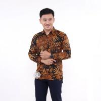 Kemeja Batik Pria Lengan Panjang MG Baju Batik Pria Batik Cowok