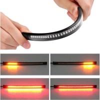 Lampu LED Rem Led Strip 3 in 1 DRL Sein Stop Rem 17 cm Fleksibel