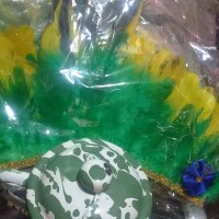 Perlengkapan Pakaian Adat Asesoris Tari Karnaval Hiasan Kepala Papua