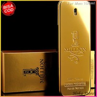 Parfum Pacorabanne One Million Gold For Men 100ml Original Singapore