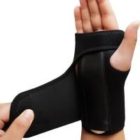 Hand Wrap Wrist Support Bracer with Steel Plating Arthritis Sprains