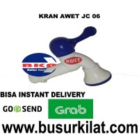 KRAN AWET JC 06 / KRAN PLASTIK / KERAN AIR / KERAN MURAH / KRAN TEMBOK