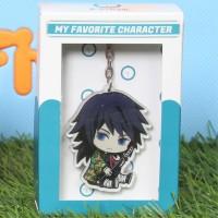 Gantungan Kunci Anime Karakter Giyuu B - Kimetsu No Yaiba