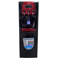 Sanken Standing Dispenser Galon Atas 3 Kran HWD763BR Hot Cool Normal