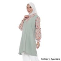 Atasan Wanita Muslim Original | Davina Tunik | Tazkia Hijab Store