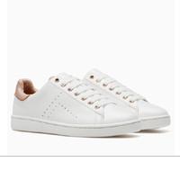 STRADIVARIUS Basic White Sneakers / Sepatu Sneakers Putih PRELOVED