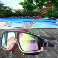 Kacamata Renang Diving Snorkling Large Frame Anti Fog UV - MALANG