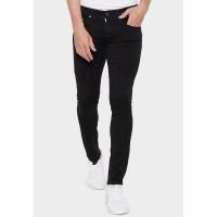 Celana Panjang Bravo Denim Stretch Skinny Jeans (Black)