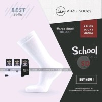 kaos kaki sekolah SD SMP SMA pria wanita / kaos kaki putih polos