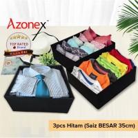 Kotak Organizer Storage Box / Underwear Bra Kotak Penyimpanan 3pcs