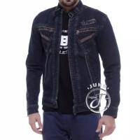 Juns Jaket Jeans Denim The Berry Original Big Size XXL-XXXL