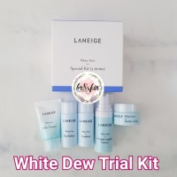 LANEIGE White Dew Trial Kit isi 5