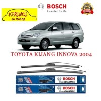 "WIPER BOSCH CLEAR ADVANTAGE TOYOTA KIJANG INNOVA 2004 24"" & 16"" SET"