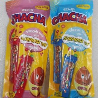 Coklat Delfi Chacha for boys/girls berhadiah limited edition toys