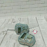 tasbih digital swarovski rhinestone diamond pelangi