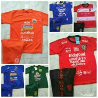 kaos setelan anak anak futsal sepak bola jersey baju olahraga anak SD