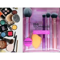 Real Techniques Everyday Essentials Make Up Brush Kuas Dandan RT