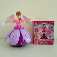 Princess Dancing Doll, Mainan Anak Perempuan ( lampu , suara )