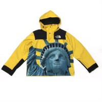 JAKET SUPREME x THE NORTH FACE STATUE OF LIBERTY YELLOW JACKET