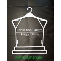 Hanger Setelan Dewasa JU 16 | Hanger layang dewasa | Gantungan baju