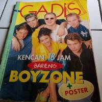 majalah gadis boyzone no poster