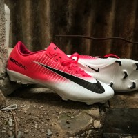 Sepatu Bola Nike Mercurial Vapor XI Pink Race FG