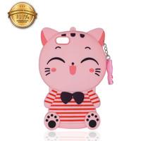 Soft Case Disney Cat Samsung J1 Ace J4 2018 J5 J6 J6+ J7+ J8 2018 A10