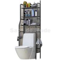 Rak Toilet Organizer WC Kamar Mandi Tissue Sabun Kloset 165 x 50 x 26
