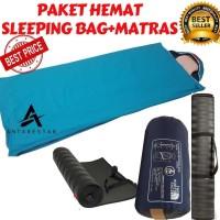 PROMO Sleeping Bag Bantal SB Ultralight Plus Matras Camping - PAKET