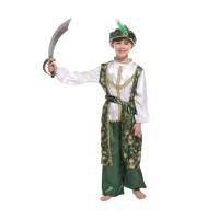 Arabian Costume Sheik Prince King Cosplay Boys UN Day