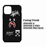 Custom Case IPHONE 11 PRO, MAX babe off white Casing Hardcase Cover