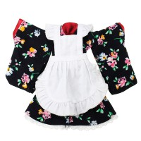 Plus Store BBGirl Kimono 30cm 35cm BJD Doll Dress Party Fashion