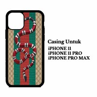 Custom Case IPHONE 11 PRO, MAX gucci snake Casing Hardcase Cover
