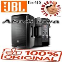 speaker aktif JBL EON 610 oryginal sepasang 10inch