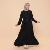 Shameena Hijab Safa Dress - Black