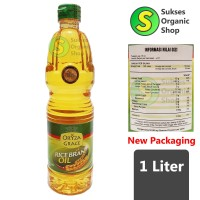 Rice Bran Oil/Minyak Goreng Bekatul Padi | 1L | Oryza Grace