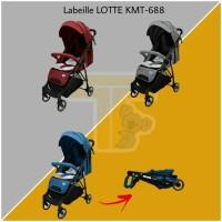 Labeille Stroller LOTTE KMT-688 - Kereta Dorong Bayi