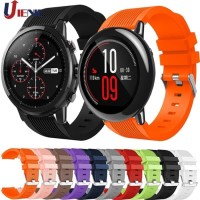 STRAP SMART WATCH XIAOMI HUAMI AMAZFIT PACE STRATOS 46MM RUBER SILICON