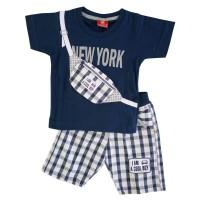 Baju Setelan Anak Bayi Laki-laki Atasan Kaos dan Celana Canasta