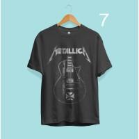 Kaos Musik Rock Metal Band Metallica 07