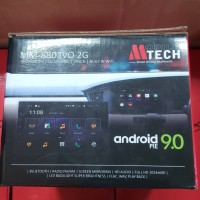 HEAD UNIT DOUBLE DIN ANDROID MTECH 8803VO PIE 9.0 RAM 2