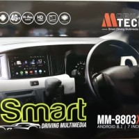 DOUBLE DIN HEAD UNIT ANDROID MTECH 8803X SIM CARD 4G