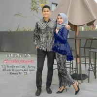 Batik keluarga couple sarimbitan setelan muslim murah resmi Srg 136